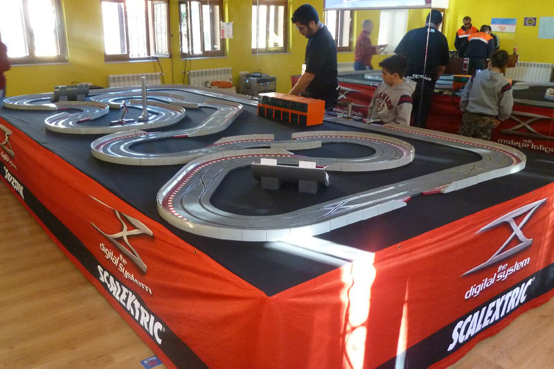 circuito scalextric digital
